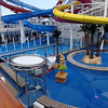 Of course as Breakaway is an amazing ship for families they don't forget about the little ones... there's their Nickelodeon themed kiddie pool area.