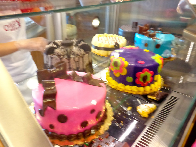 "If you're celebrating a special occasion during your sailing, as you can see from these cakes at ""Carlo's Bake Shop"", they can probably put together a little special something for you! :-)"