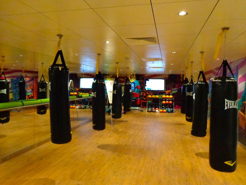 Do you like boxing classes?  You can do those on Breakaway too!!  And apparently their spinning classes onboard are awesome!