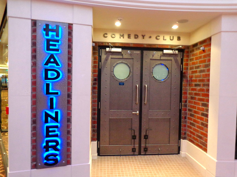 "If you like to laugh then make sure to check out ""Headliners"" comedy club where the famous ""Second City"" troupe performs throughout the Cruise.  As well, the ""Howl at the Moon"" dueling pianos perform here nightly... another great venue to enjoy exciting nights at while on Norwegian Breakaway!"