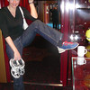 """Bowling at Sea""... who would've believed that just a few years ago!! Check out those Funky shoes!! :-)"