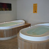 There's a couple of the individual Soaker Hot Tubs available at the Spa... these were nice!! :-)