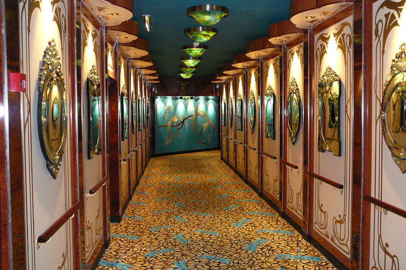"A glimpse of the entrance going into the ""Stardust Theatre"" where the Norwegian Pearl's Singers, Dancers and Cruise Staff entertained us each night!!"