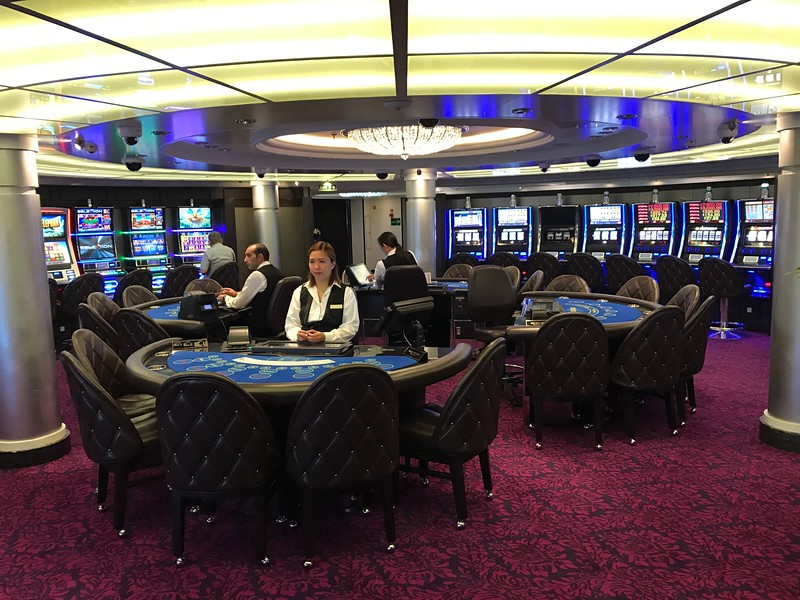 And a Casino for those who like to do a little gambling during their time at sea.