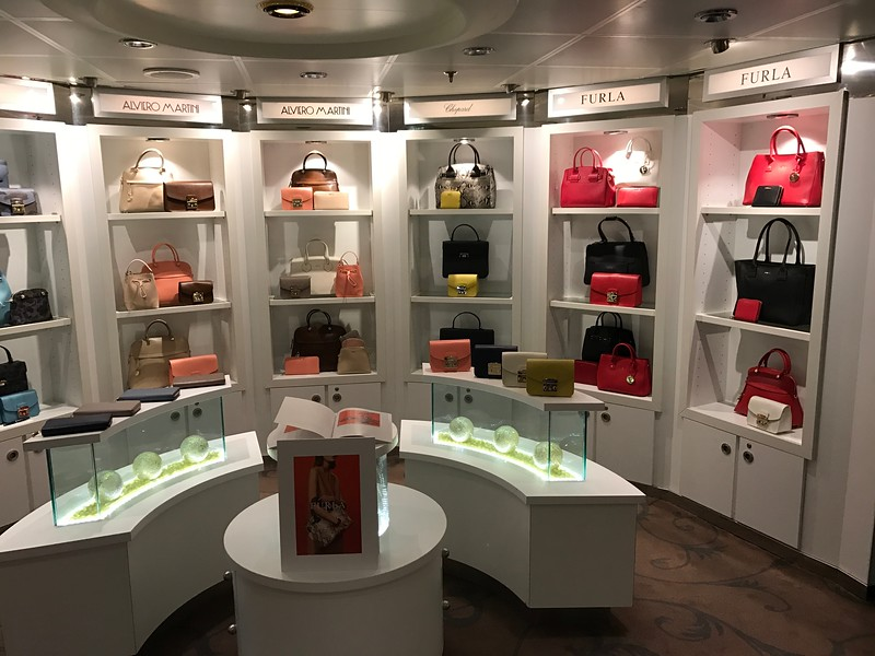 If you like to shop there's some great boutiques & jewelry places onboard.