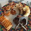 Then check out these bunch of pictures to see how THIS IS NOT YOUR TYPICAL CRUISE BUFFET!! :-)<br /> <br /> This was our 54th Cruise and we can attest for sure, it's not very often you see items like grilled Lobster tails at Cruise buffets!<br /> <br /> So, if you want a casual meal onboard at night head upstairs as though you can dress casual & dine casually the food certainly won't be! :-)