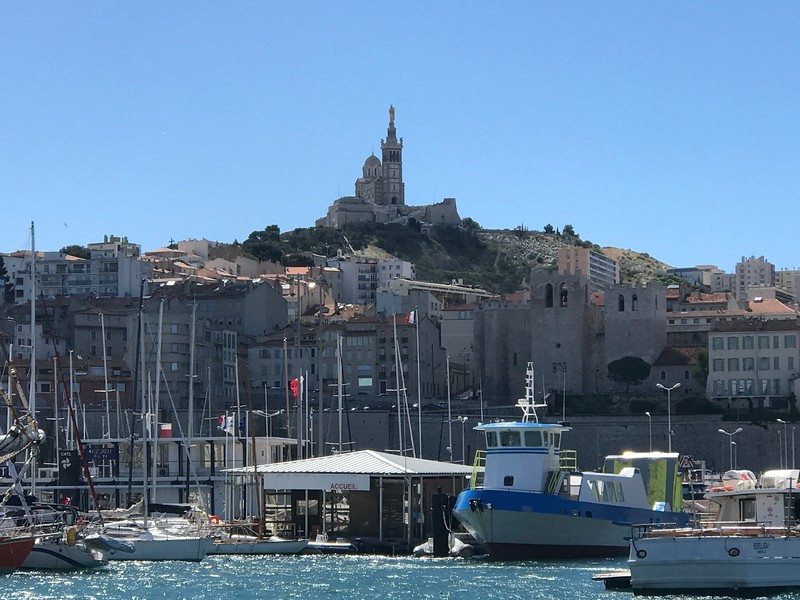 Once we left Spain & visited Marseille, France the scenery certainly didn't get any less pretty