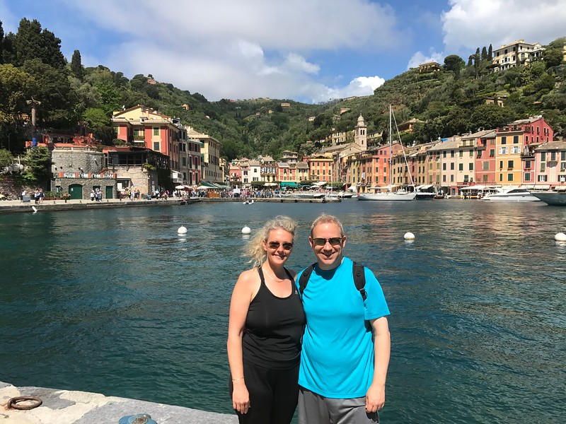 As was Portofino, Italy… one of the prettiest places you'll ever visit and if you're up for it some great hiking around there too!!