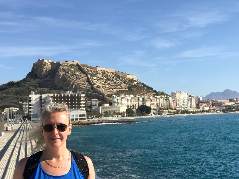 As you'll see from these few pics Alicante, Spain was gorgeous as well… the Southern Spanish coast is absolutely stunning as you'll see in all these cities! :-)