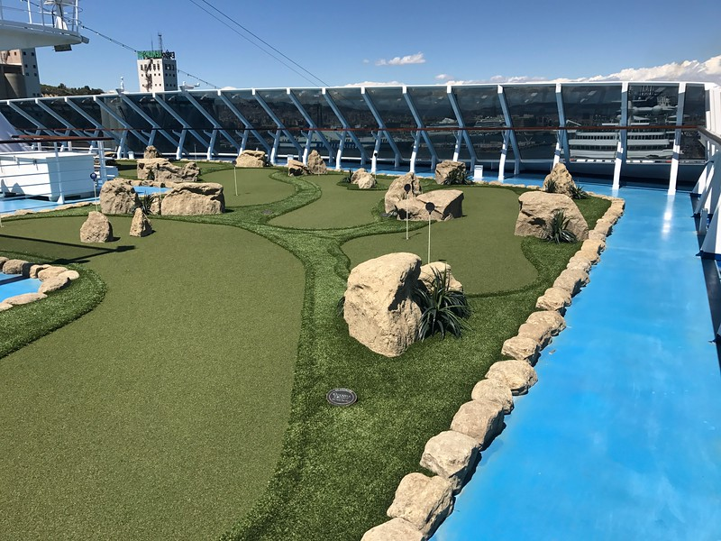 And the mini-golf course.