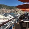 ...and this one showing the outside area where you can eat at the buffet. (we were docked in Monte Carlo there)