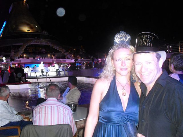 "As mentioned, this was a ""Christmas & New Years"" Cruise so of course they went all out New Years Eve... we had a great time Celebrating New Years for our first time ever while ""at Sea""... ringing in the new year surrounded by the moonlight & warm Caribbean breeze sure was nice! :-)"