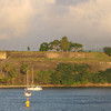 """There's a familiar site for those who've Cruised into Fort de France... """"Fort Saint-Louis""""... a historical site and active naval base that hundreds of years ago defended Fort de France from attack."""