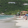 There's Cane Bay's beach... like many Caribbean Islands Tortola has some gorgeous beaches!! :-)