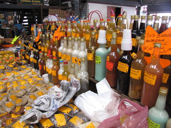 When in Fort de France make sure to visit the spice market... it's the largest market on the island that features rum, spices, herbs, local crafts and more.