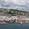 Port stop # 4 for us was in Fort de France on the French ruled Island of Martinique... there's a look at the main town and some of it's beautiful hillside homes there... a very pretty place! :-)