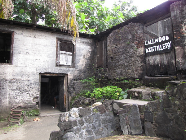 On many Caribbean Islands rum manufacturing is a big part of the history & culture... it's no different on Tortola... here we visited a very historic rum distillery run by the Callwood family.