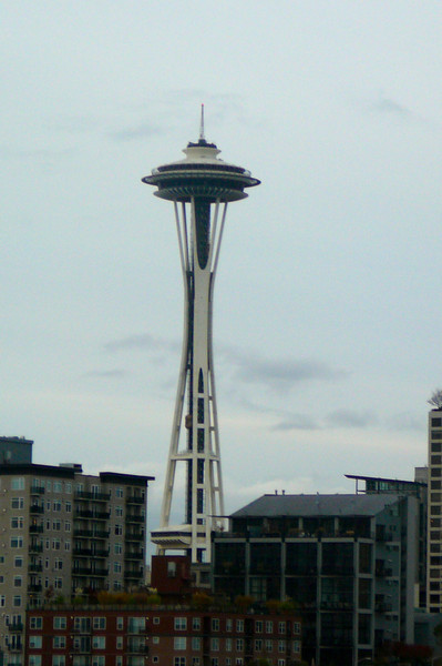 "If you've ever been to Seattle you'll know that's where our Pacific Coastal Cruise sailed from as there's Seattle's famous ""Space Needle""... which was the inspiration for the ""Viking Crown"" lounges on top of Royal Caribbean's Ships."
