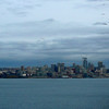 There's a look at Seattle's beautiful skyline as we start our 4 day journey up to BC.