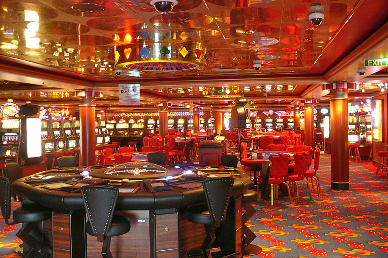 "Of course, like just about all Cruise Ships at Sea today (except where it's not allowed in Hawaii, etc.) the ""Star"" has an onboard Casino that's opened when at Sea... who needs Vegas or Monte Carlo when you're on a Cruise?? :-)"