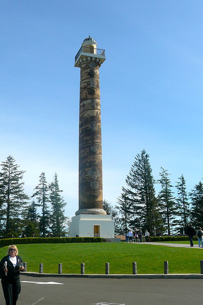 "There's the ""Astoria Column"" that sits on top of Coxcomb Hill in Astoria... for the best views of Astoria and the Columbia River make sure to make the trip up here during your visit."