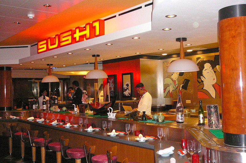"And of course what ""Teppanyaki"" Restaurant would be complete without a Sushi Bar next door? :-)"