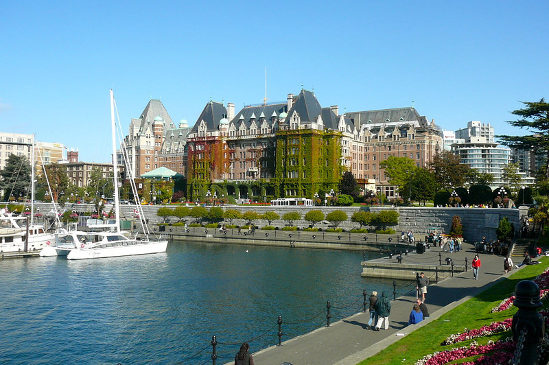 "There's the Famous ""Fairmont Empress"" still going strong after 100 years... if you like to enjoy Classic ""afternoon tea"", make sure to pay a visit here next time in Victoria!!"