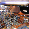 "At the front of the Ship we showed you the ""Princess Theatre"" where they entertain you every night... well, entertainment doesn't happen in just one but multiple venues... here's the ""Universal Lounge"" at the back of the Ship where they have entertainment every night as well."