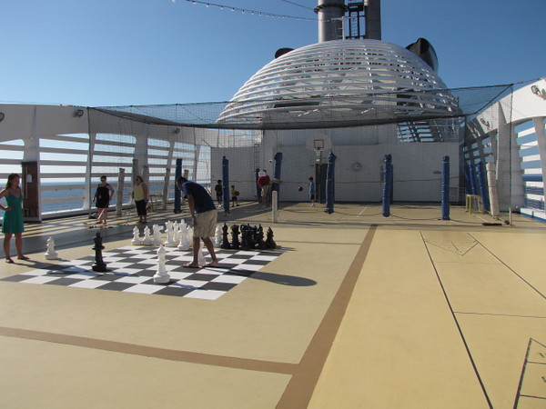 And lots of other activities too beyond Mini-Golf... there's the Sports Deck where you can play Basketball, Mega-Big Chess, etc. :-)