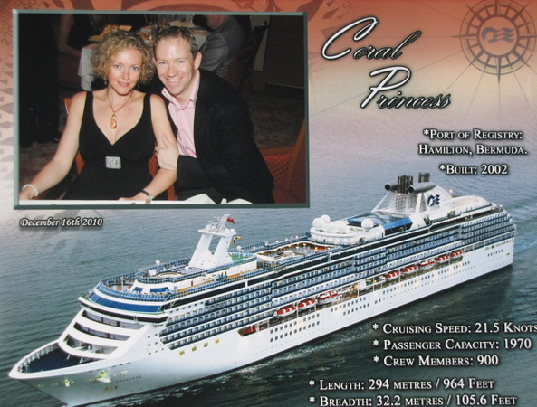 There's a nice little memento of our 1st ever Cruise at Christmas... definitely something we'll be doing again in the near Future! :-)