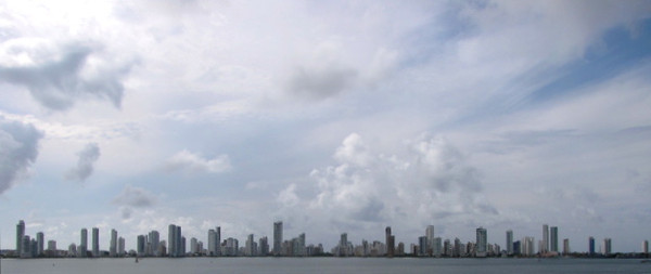 One of the nicest parts of Cartagena for sure is it's Beautiful skyline!