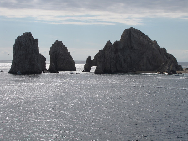 """One of Cabo's nicest features are the Beautiful Rock formations that entirely surround this picturesque town... but of course, none are more Famous then this site know to many as """"Los Arcos""""."""