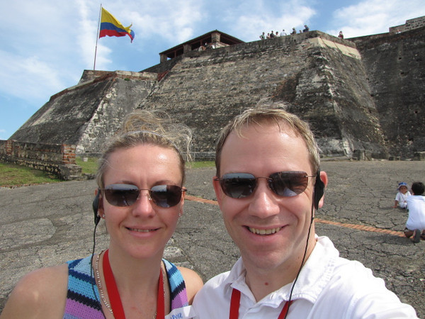 """3 days into our 15 Night """"Panama Canal"""" journey and it definitely looks like we've managed to, as Princess says, """"Escape Completely""""... nothing makes us happier than being together while travelling the World!! :-)"""