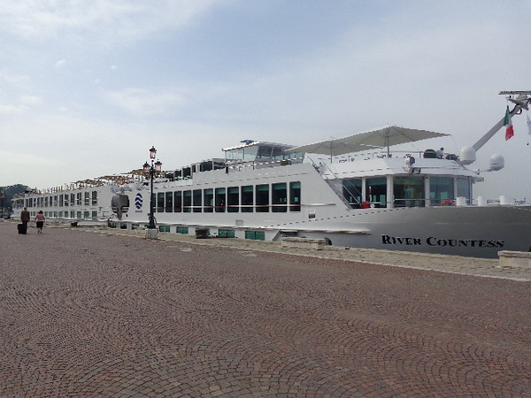 "There's the Beautiful ""River Countess"" where we called ""Home"" for 7 Nights while exploring Venice & Northern Italy... to get to unpack just once and to explore so much... Heaven! :-)<br /> <br /> Visit <a href=""http://nancyandshawnpower.com/review-uniworld-cruise-river-countess/"">http://nancyandshawnpower.com/review-uniworld-cruise-river-countess/</a> to read our full review of our experience on the ""River Countess""."