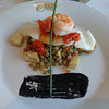 Yummy seafood & presented beautifully on our Uniworld Ship... what else could you ask for!! :-)