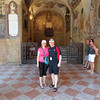 Of course we had to visit the University of Bologna... there we are about to head back to school! :-)