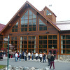 "A shot of the Main building/activity area at the Denali Lodge. This lodge is only minutes from the Denali Park entrance where you'll be going to experience either the ""Tundra Wilderness"" or ""Natural History"" tours.  Our advice, make sure the ""Tundra"" is included with your Tour!!"