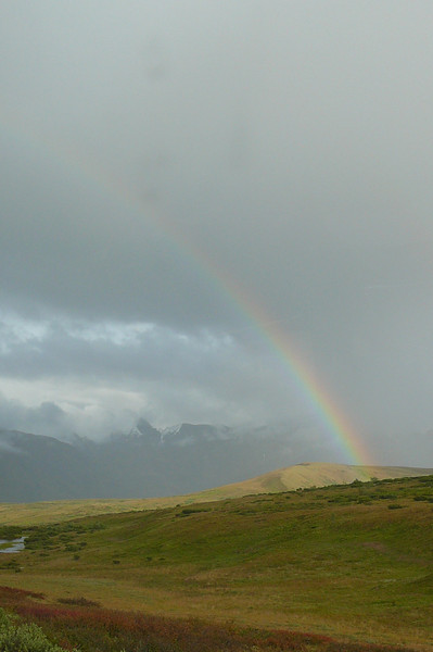 Denali National Park had it all... even pretty Rainbows. :-)