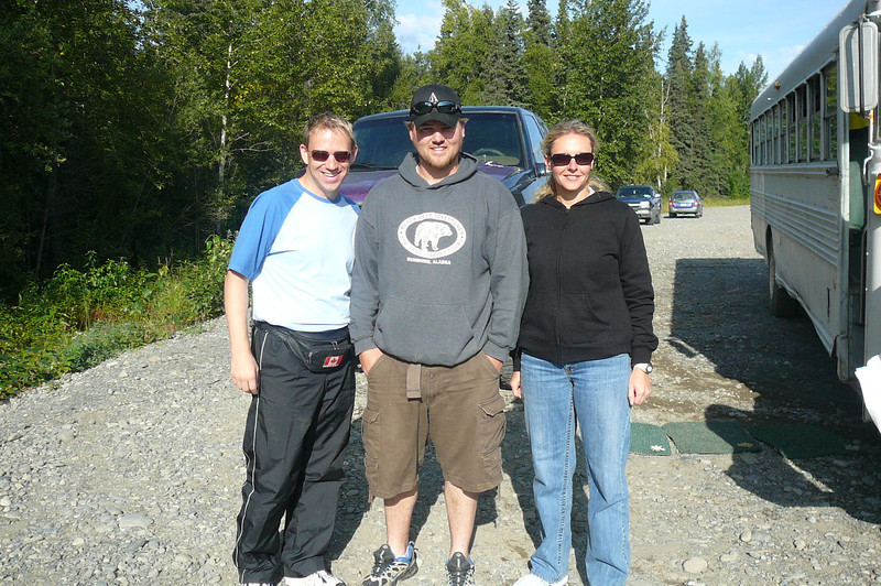 Well, there we are after adding another super memorable Tour to our Great Alaskan Adventure!!