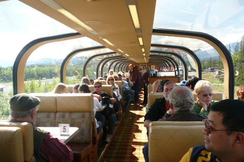 Here's a glimpse into the Amazing views you can expect while checking out the Alaskan terrain from Princess' Domed Rail Cars.