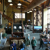 "Princess has 2 great Lodges near Denali Park, one at the North end & one in the South. Here's a glimpse of the Main Lobby, at the North Lodge, where everyone on a Princess Tour stays at least 1 night... the ""Denali Princess Wilderness Lodge""."