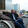 We couldn't help ourselves, we had to take the Horse Carriage ride around downtown... now that was fun!! :-)