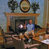 The best part about the Lodges in all the different places in Alaska is that there was always a Fireplace to be had. :-)