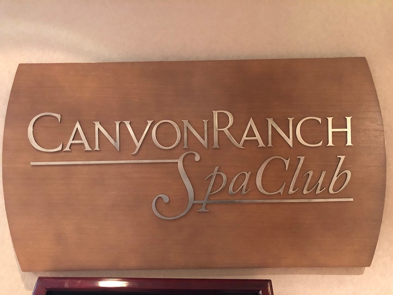 """Or if you want to be as far from busy as you can be, there's always the World Famous """"Canyon Ranch"""" Spa Club onboard to get you into super relaxing mode!!"""