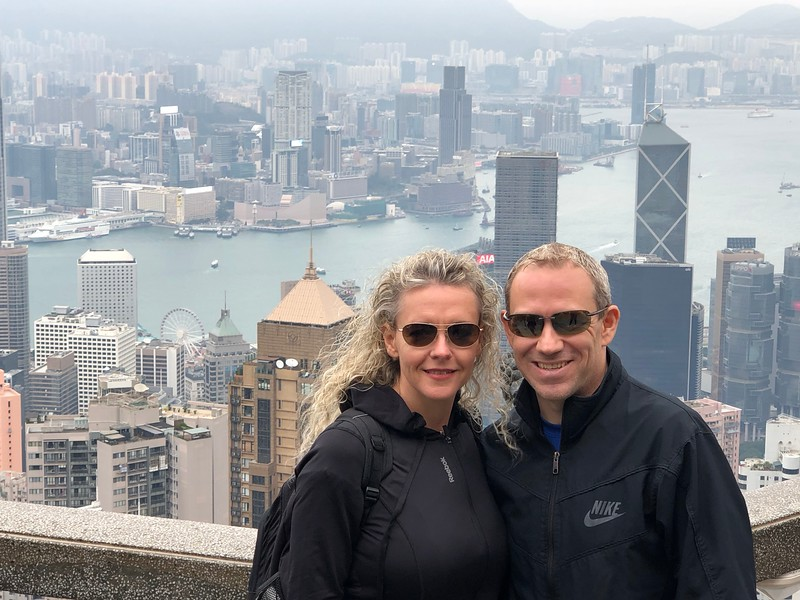 """As we'd never been to Hong Kong before, we flew in a week early to spend some time there & in Macau… there's lot's to see & do when in Hong Kong so there's lots of options to tickle your fancy but for sure though head up to """"Victoria Peak"""" to see just how impressive the city's skyline is!"""
