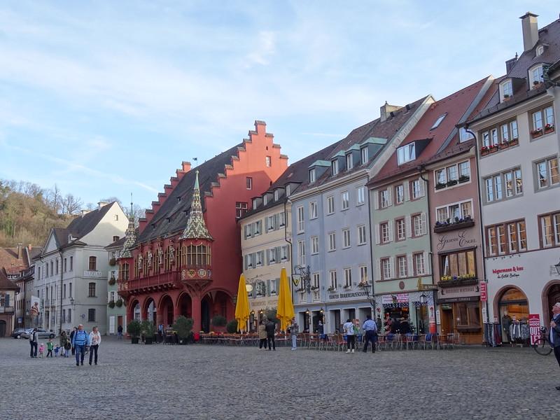 As was the scenery all around Freiburg!