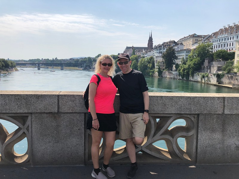 """Our next stop was in Basel, Switzerland which we were happy to be able to do as last time here we only saw the port & then the airport so it was great to spend some time here... the highlight for sure in Basel is it's """"River-side"""" setting as the """"Rhine River"""" cuts right through town!"""