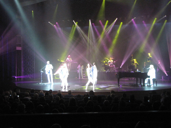 "In the Main Theatre we watched an Amazing tribute to the Famous 70s Band, ""Abba"". Great talent!"