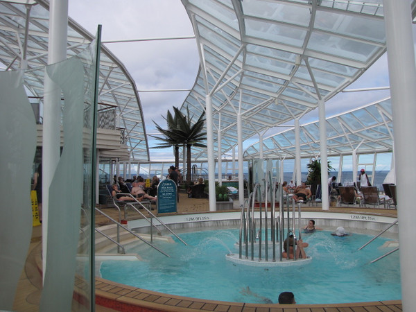 "Here's another picture of the Adults Only ""Solarium""... or should we say, ""a little piece of heaven"". :-)  It's definitely a great place to relax!!"