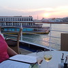 "Another great spot to eat onboard is at ""La Terezza"" where at night it's an Italian Restaurant and comes with some of the best views onboard… I'm sure you can tell from that sunset that we thoroughly enjoyed our dining venue that night! :-)"